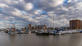 Kingston på skrovet, UK Arkivfoto