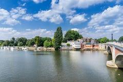Kingston på Themsen arkivfoto
