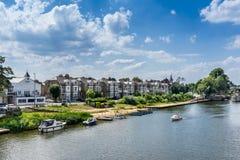 Kingston på Themsen royaltyfri foto