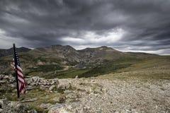 Kingston Peak Royaltyfri Fotografi