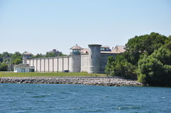 Kingston Penitentiary in Ontario, Canada immagine stock