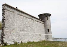 Kingston Penitentiary Ontario. Canada abandoned stone royalty free stock photography