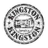 Kingston rubber stamp Royalty Free Stock Photography