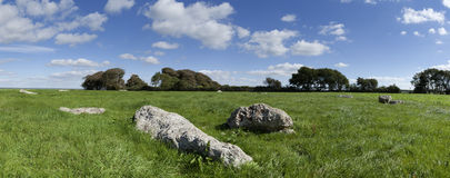 Kingston Russell Stone Circle Royalty Free Stock Images