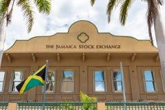 The Jamaica Stock Exchange JSE, the principal stock exchange of Jamaica royalty free stock photography