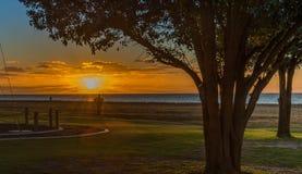 Kingston-Sonnenuntergang Lizenzfreies Stockbild