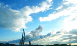 Kingston Steam Plant Royalty Free Stock Photo