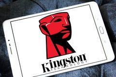 Kingston Technology Corporation-embleem royalty-vrije stock fotografie