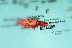 Kingston, una città in Giamaica immagine stock libera da diritti