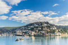 Kingswear from across the River dart Stock Images
