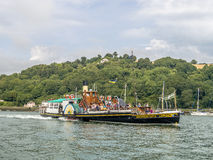 Kingswear Castle Paddle Steamer River Dart, Devon. Royalty Free Stock Photos