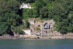 Kingswear Castle. By the River Dart, Devon Stock Photos