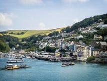 Kingswear dal dardo del fiume, Devon fotografie stock libere da diritti