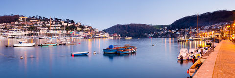 kingswear dartmouth Arkivbilder