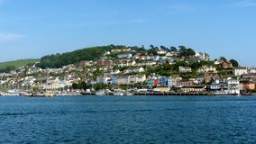 Kingswear from Dartmouth in South Devon, The United Kingdom, May 21, 2018 stock photo