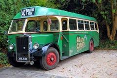 Kingswear, Devon, UK - Listopad 1 2013: Rocznik Brytyjski Leyland Obrazy Royalty Free