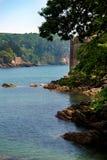 Kingswear e castello di Dartmouth, Devon, Regno Unito, il 24 maggio 2018 fotografie stock