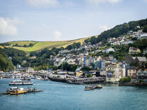 Kingswear by the River Dart, Devon. Royalty Free Stock Photos