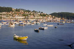 Dartmouth Estuary and Kingswear, Devon, UK Royalty Free Stock Photo
