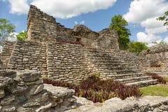 Kinichna archeological miejsce w Quintana Roo Meksyk Obraz Stock