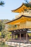 Kinkaku籍金黄寺庙 免版税图库摄影
