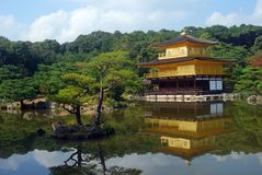 kinkaku Κιότο της Ιαπωνίας ji Στοκ Φωτογραφία
