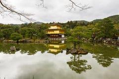 Kinkaku-Ji świątynia w Kyoto Obraz Royalty Free