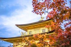 Висок Kinkaku-ji стоковая фотография