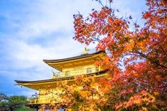 Висок Kinkaku-ji стоковые изображения rf
