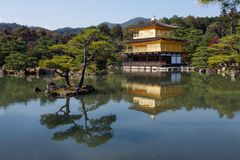 Kinkaku-ji Fotografie Stock Libere da Diritti