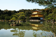 Kinkaku ji Stock Photography