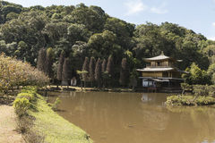 Kinkaku-ji of Brazil Stock Photography