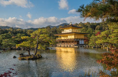 Kinkaku-ji buddhist temple Golden pavilion, Kyoto, Japan Royalty Free Stock Image