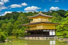 Kinkaku-ji dorato Fotografie Stock Libere da Diritti