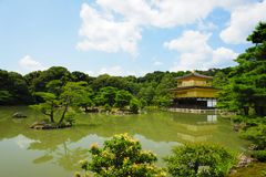 Kinkaku-ji dourado Imagem de Stock Royalty Free