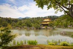 Kinkaku-ji, the Golden Pavilion, The famous buddhist temple in Kyoto, Japan Stock Images