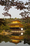 Kinkaku-ji, Golden Pavilion in Kyoto Royalty Free Stock Photography