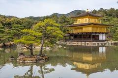 Kinkaku-ji, the Golden Pavilion, Kyoto, Japan Stock Photos