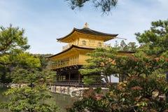 Kinkaku-ji, the Golden Pavilion, Kyoto, Japan Stock Photography