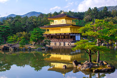Kinkaku-ji, The Golden Pavilion in Kyoto, Japan Royalty Free Stock Photos