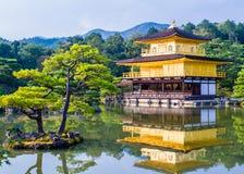 Kinkaku-ji, The Golden Pavilion in Kyoto, Japan Royalty Free Stock Photos