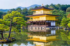 Kinkaku-ji, The Golden Pavilion in Kyoto, Japan stock images