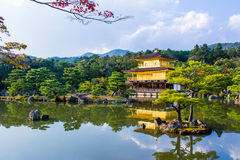 Kinkaku-ji, The Golden Pavilion in Kyoto, Japan royalty free stock image