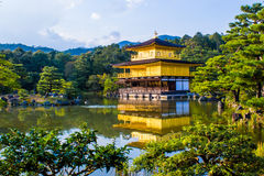 Kinkaku-ji, The Golden Pavilion in Kyoto, Japan royalty free stock photo