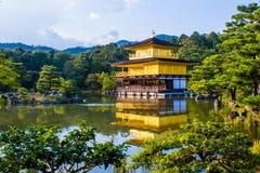 Kinkaku-ji, The Golden Pavilion in Kyoto, Japan Royalty Free Stock Photo