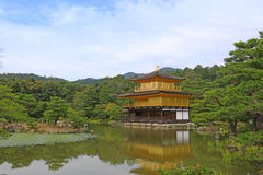 Kinkaku-ji, The Golden Pavilion in Kyoto, Japan. Kinkaku-ji, the Golden Pavilion, a Zen Buddhist temple in Kyoto, Japan Stock Photo