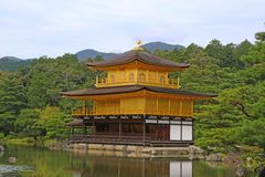 Kinkaku-ji, The Golden Pavilion in Kyoto, Japan. Kinkaku-ji, the Golden Pavilion, a Zen Buddhist temple in Kyoto, Japan Royalty Free Stock Images