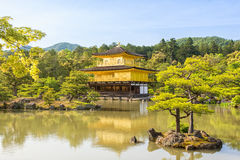 Kinkaku-ji, the Golden Pavilion Stock Photo
