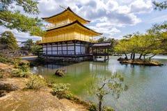 Kinkaku-ji, the Golden Pavilion Royalty Free Stock Photos