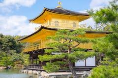 Kinkaku-ji, the Golden Pavilion, a Zen Buddhist temple Stock Photography